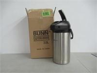 BUNN 32130.0000 3.0-Liter Lever-Action Airpot,
