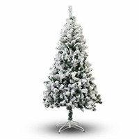 Perfect Holiday Christmas Tree, 4-Feet, Flocked