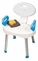 Carex E-Z Bath and Shower Seat with Handles, 1