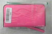 Fossil Emma RFID Phone Wallet, Neon Pink