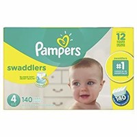 Pampers Swaddlers Disposable Baby Diapers Size 4,