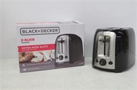BLACK+DECKER Toaster, 2 Slice, Extra Wide Slots