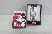 Disney Women's MK2006 Mickey Mouse Abalone Stone