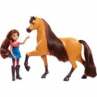 Spirit 39238 Lucky and Spirit Doll, Brown, Small