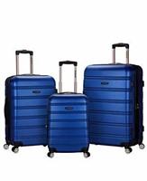 Rockland Luggage Melbourne 3-Piece Set, Blue, One