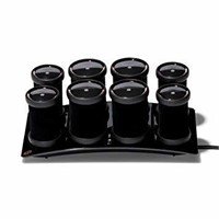 T3 Micro Volumizing Hot Rollers Luxe, Black, 1