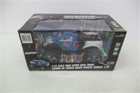 1:16 Scale High Speed Race Truck - Blue