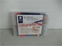 STAEDTLER double ended calligraphy markers,