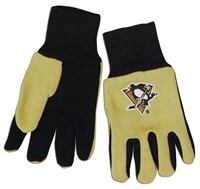 NHL Pittsburgh Penguins Two-Tone Gloves,