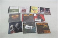 Lot of 10 Assorted CD's