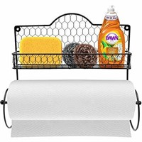 Sorbus SPC-TOWL Spice Rack and Paper Towel