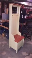 Coat Rack w/ Bench w/ Storage