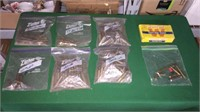 Box Of Assorted Brass Casings- See Pics