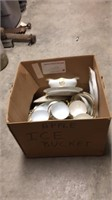 2- Boxes of  Assorted Old Dishes
