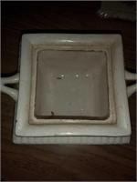 Gravy dish, sugar bowl, and bowl