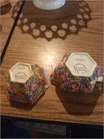 Wooden butter stamper, 4 different sized salt a