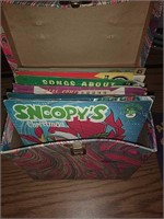 Box with 28 Records