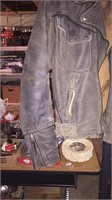 Harley Davidson Leather Jacket -Size Med.