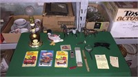 Box of Assorted Collectibles- See Pics