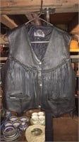 Leather King Leather Vest- Size XXL