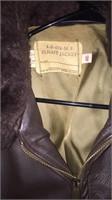 Vintage Flight Jacket- Made By Schmitt Bros.
