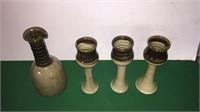 3- Goblets w/ Pitcher