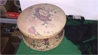 3- Vintage Hats In Hat Box