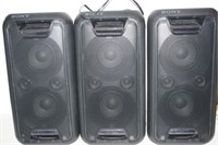 LOT OF 3 SONY STEREO (NOT WORKING)