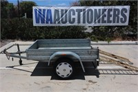 2008 Greenwood 6x4 Trailer With Ramps
