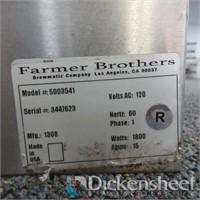 Farmers Brothers 6 Selection Beverage Dispenser,