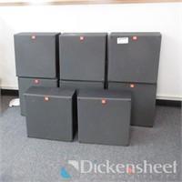 JBL Model 3310 Speakers (8) Total