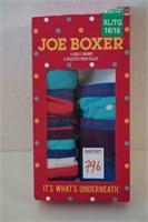 JOE BOXER XL 16/18 6PACK GIRLS UNDERWEAR