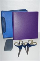 LOT OF ASSORTED SCHOOL ACCESSORIES - USED