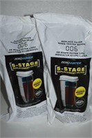 LOT OF 2  ZERO WATER 5-STAGE REPLACEMENT