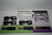 LOT OF READERS GLASSES +2.00