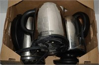 LOT OF 3 RUSSELL HOBBS KETTLES - USED
