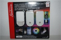 SUNBEAM COLOR CHANGING LED POWER FAILURE/