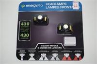 ENERGY PRO HEADLAMPS 6 LIGHT MODES