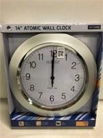"14"" ATOMIC WALL CLOCK"