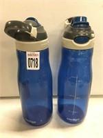 SET OF 2 WATER BOTTLES