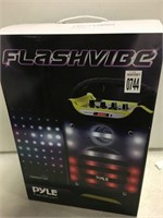 PYLE FLASHVIBE RUGGED & DURABLE STEREO SYSTEM