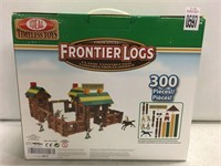TIMELESS TOYS FRONTIER LOGS CLASSIC CONSTRUCTION