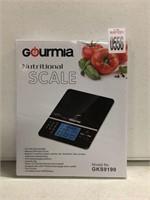GOURMIA NUTRITIONAL SCALE