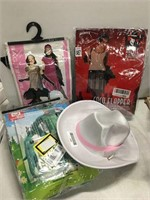 ASSORTED ADULT COSTUMES