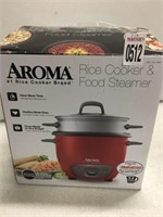 AROMA 2-6 CUPS RICE COOKER
