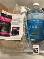 MCT OIL BRAIN FUEL