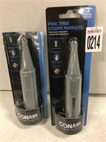 CONAIR 2-PIECE PRECISION TRIMMER