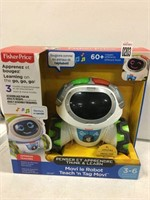 FISHER-PRICE TEACH 'N TAG MOVI TOY FRENCH