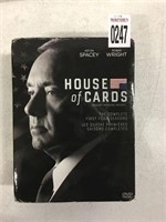 HOUSE OF CARDS COMPLETE SEASON SERIES