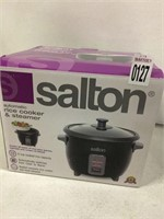 SALTON AUTOMATIC RICE COOKER & STEAMER